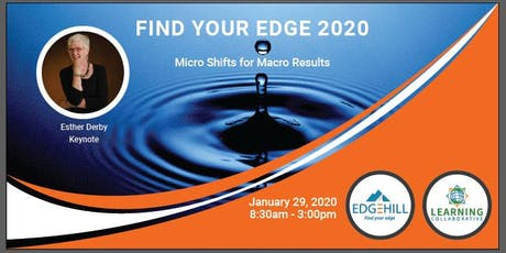 Find Your Edge 2020: Micro Shifts for Macro Results tickets
