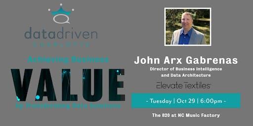 Data Driven Charlotte October Meetup