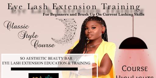 Classic Eye Lash Extension Training