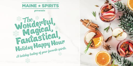 The Wonderful, Magical, Fantastical, Holiday Happy Hour
