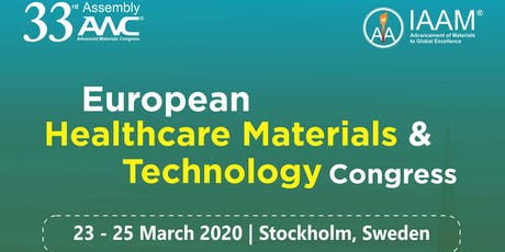 European Healthcare Materials and Technology Congress tickets
