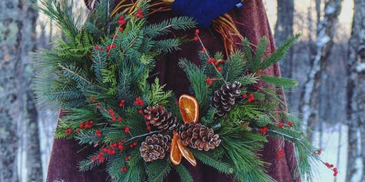Willow Wreath Workshop at The Chatham Pub