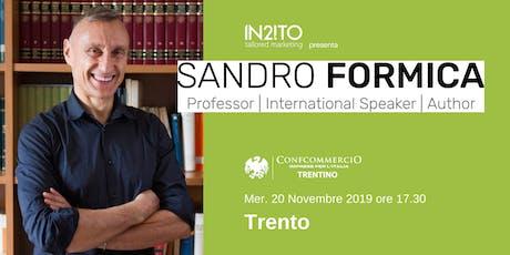 La Scienza del Sé, Ben-Essere e Performance | Sandro Formica a Trento biglietti
