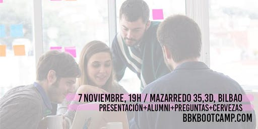 Info Day BBK Bootcamp ¡Convocatoria abierta '20!