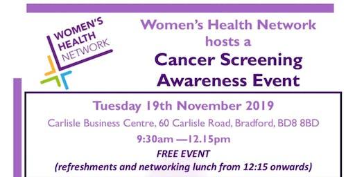 Cancer Screening Awareness Event (WHN)