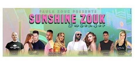 Sunshine Zouk Weekender tickets