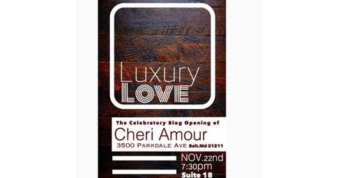 Luxury Love Blog Launch Party