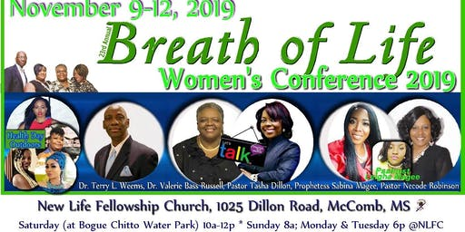 Breath of Life Women's Conference 2019