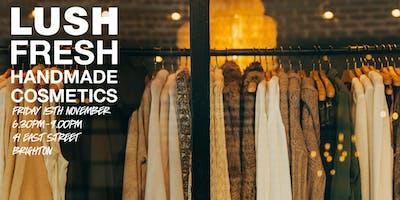 LUSH Brighton Clothes Swap