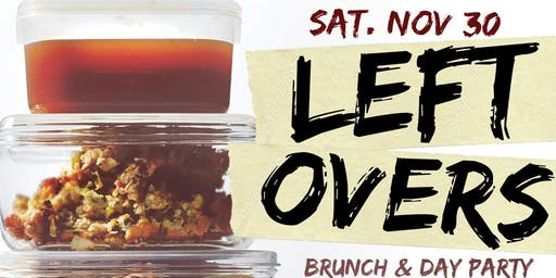 """CEO FRESH PRESENTS: """" LEFTOVERS """" (BRUNCH & DAY PARTY) AT LE REVE NYC"""