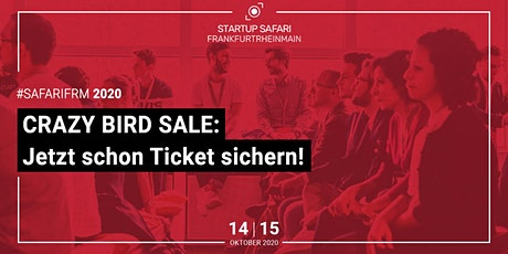 Startup SAFARI FrankfurtRheinMain 2020 Tickets