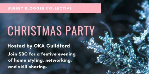 Surrey Blogger Collective Christmas Party