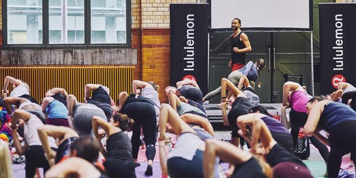 lululemon Mass Yoga in support of the Wilmslow Festive 10K