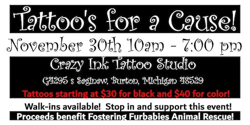 Tattoo Event with Crazy Ink Tattoo Studio!