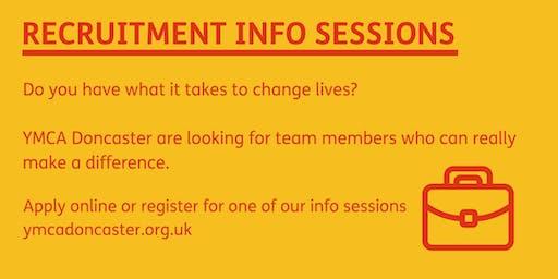 Recruitment Info Session - 5pm on Thursday 21st November