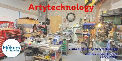 Visita al Taller de  Art&Technology
