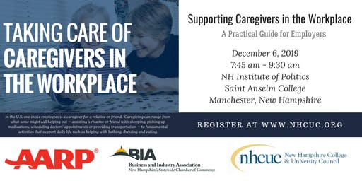 Forum - Taking Care of Caregivers in the Workplace