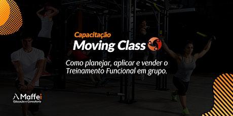 Capacitação Moving Class - Treinamento funcional para grupos ingressos