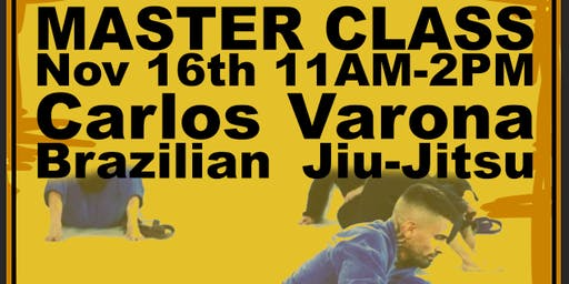 Master Class - Martial Arts - Carlos Varona