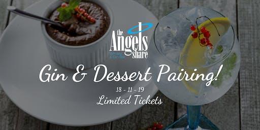 Gin & Dessert Pairing