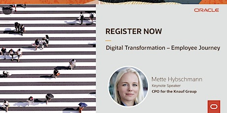Digital Transformation – The Employee Journey tickets