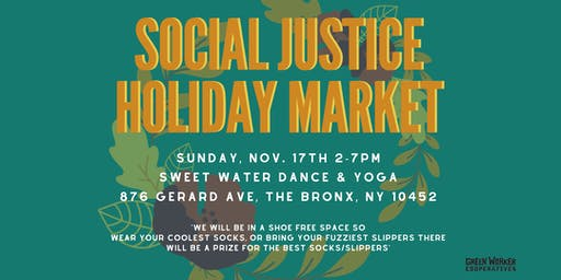 GWC Social Justice Holiday Market