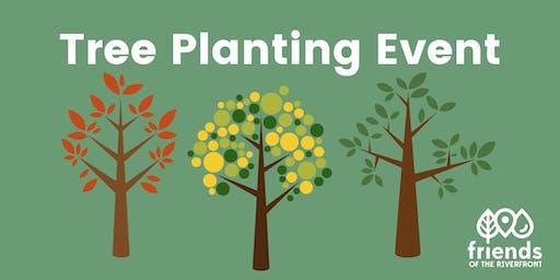 Tree Planting on the Eliza Furnace