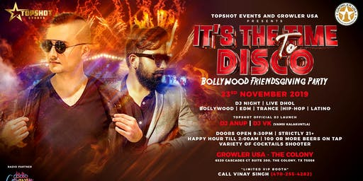 IT's The time to DISCO | Bollywood Friendsgiving Party