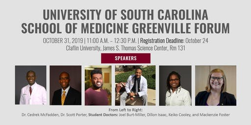 University of South Carolina School of Medicine Greenville Forum