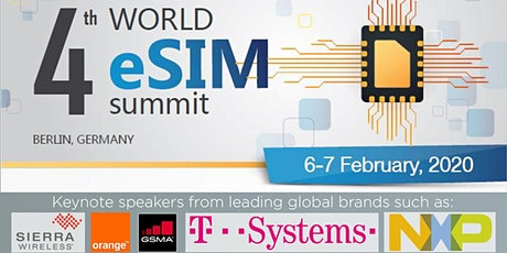 4th World eSIM Summit tickets