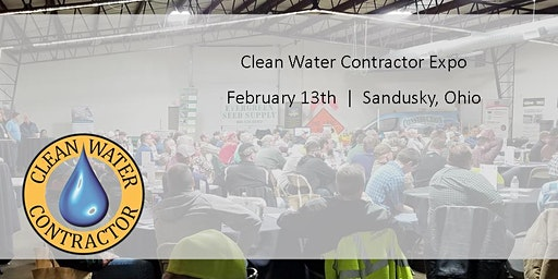 Clean Water Contractor Expo: Sponsors & Exhibitor Registration