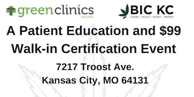 Patient Education and Walk In Certification Event
