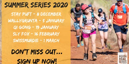 Perth Trail Series - Summer Series 5 Pass Package