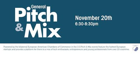 Pitch & Mix - By the European-American Chamber of Commerce in the US, Inc. tickets
