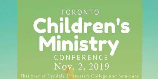 Toronto Children's Ministry Conference
