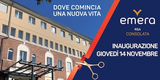 Inaugurazione - RSA Consolata