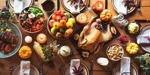 Thanksgiving Potluck & Ice Cream Treat