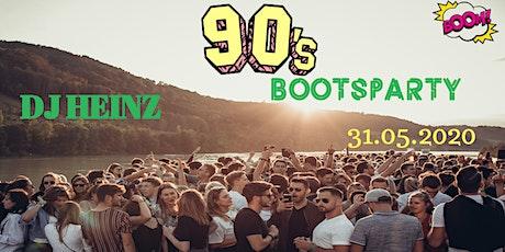 Die 90´er Bootsparty Tickets