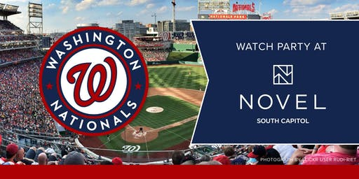 Washington Nationals World Series Watch Party