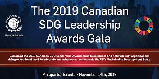 2019 Canadian SDG Leadership Awards Gala