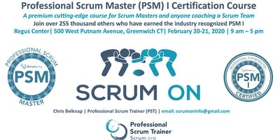 Scrum.org Professional Scrum Master (PSM)- Greenwich CT - Feb 20-21, 2020