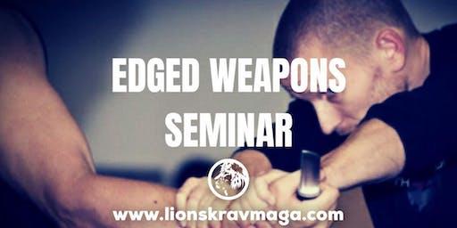 Edged Weapons Seminar