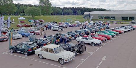BMC & Leyland Show, TR Drivers Club National Rally 2020 tickets