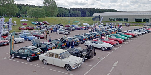 BMC & Leyland Show, TR Drivers Club National Rally 2020
