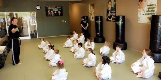 FREE Kid's Karate for Concentration Workshop