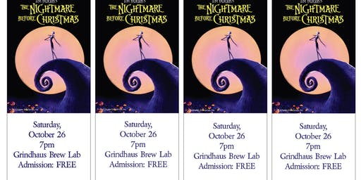 The Nightmare Before Christmas @ Grindhaus Brew Lab