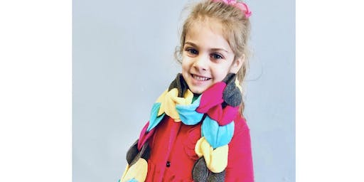Kids DIY Workshop- No-Sew Fleece Scarf
