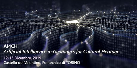 AI4CH - Artificial Intelligence in Geomatics for Cultural Heritage tickets