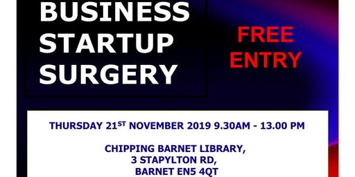 Business Start-up Surgery With Natwest Bank  in Barnet