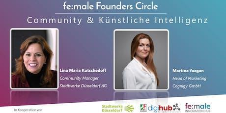 fe:male Founders Circle | Künstliche Intelligenz & Community Management Tickets
